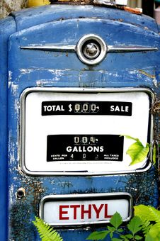 Free Forty Cents A Gallon Stock Photography - 19234852