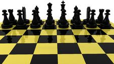Free Chess Concept Royalty Free Stock Photography - 19234887