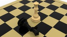 Free Chess Concept Royalty Free Stock Photography - 19234897