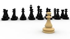Free Chess Concept Stock Image - 19234911