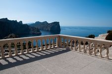 Free View Point Formentor, Majorca, Spain Royalty Free Stock Photo - 19234945