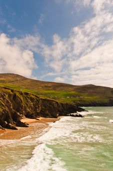 Free Cliffs On  Dingle Peninsula, Ireland Royalty Free Stock Photography - 19238217