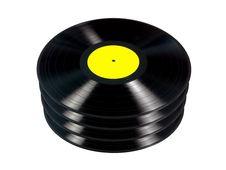 Free Vinyl Records Stock Image - 19238931