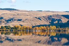 Mountain Lake. Stock Photo