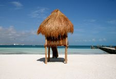 Free Beach Hut Stock Photo - 19239320