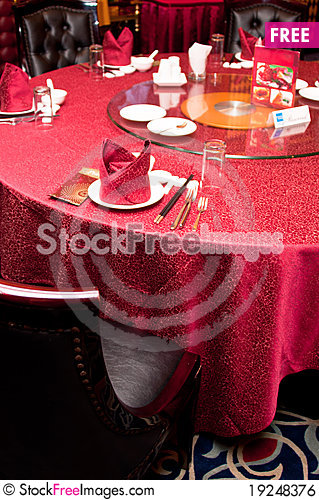 Chinese Restaurant Table Setup For VIP & Chinese Restaurant Table Setup For VIP - Free Stock Images \u0026 Photos ...