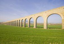 Free XXVIII Century Aqueduct Noain. Stock Photos - 19241103