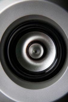 Free Metallic Speaker Stock Photography - 19242912