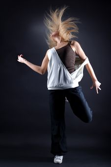 Free Modern Dancer In Action Stock Photo - 19243320