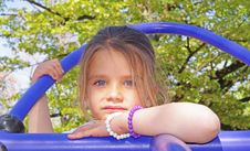 Free Little Girl Stock Photography - 19243452