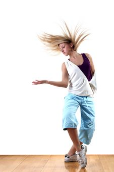 Free Dancer In Action Royalty Free Stock Image - 19243456