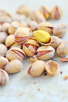 Free Pistachio Details Royalty Free Stock Photography - 19243477