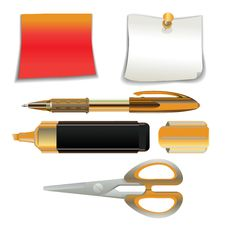 Free Office Supplies Stock Photography - 19243632