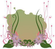Free Funky Flowers Royalty Free Stock Photography - 19243677
