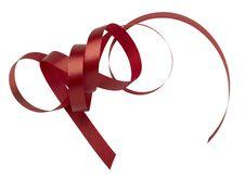Free Red Ribbon Royalty Free Stock Photos - 19243938