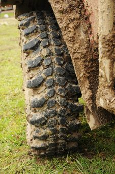 Free All Terrain Tire Stock Photos - 19243953