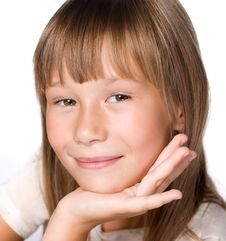 Free Portrait Of A Beautiful Girl Royalty Free Stock Photography - 19243977