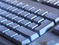 Free Computer Keyboard Close-up Stock Image - 19244071