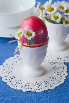 Free Easter Breakfast. Royalty Free Stock Photography - 19244167