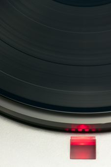 Free Record Player Detail Stock Photo - 19244180