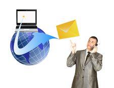 Free E-mail Royalty Free Stock Photo - 19244685