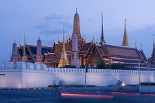 Free Wat Phra Kaew : The Royal Temple Of Bangkok , Thai Stock Photos - 19244743