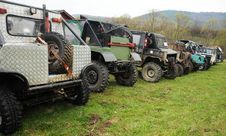 Offroad Vehicles Stock Photography