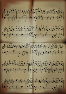 Free Close-up Of Musical Notes Royalty Free Stock Photos - 19245768