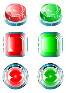 Free Buttons Stock Image - 19246301