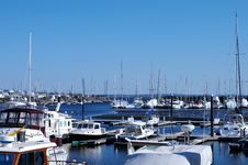Free Boats Docked Royalty Free Stock Photography - 19246407