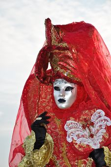 Free Venetian Costume Royalty Free Stock Image - 19246626