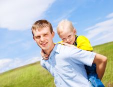 Free Father And Son Stock Photography - 19247562