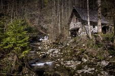 Free Old Water Mill In Stiegengraben, Austria Royalty Free Stock Images - 19248619