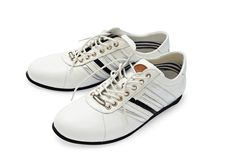 Free White Shoes With Laces Stock Photos - 19248673