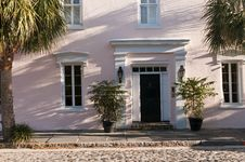 Old Southern Townhouse Royalty Free Stock Photography