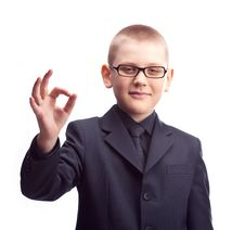 Free Young Businessman Royalty Free Stock Photography - 19249677