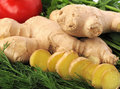 Free Ginger And Greenery Royalty Free Stock Photos - 19250188