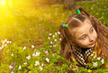 Free Girl In Flowers Royalty Free Stock Image - 19254996