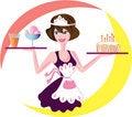 Free Waitress Stock Image - 19259541