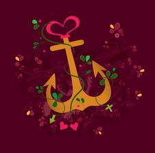 Free Anchored Love Stock Photography - 19250302