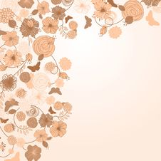 Free Abstract Floral Background Stock Images - 19251424