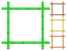 Free Bamboo Frames Royalty Free Stock Photography - 19251457