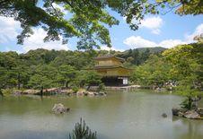 Free Kinkakuji Golden Pavilion In Kyoto, Rokuon-ji Stock Images - 19251734