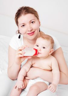 Free Mother And Baby Stock Photo - 19251850