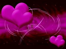 Free Pink Heart Royalty Free Stock Image - 19251996