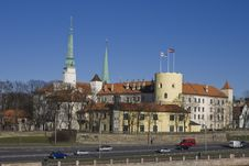 Free Riga Castle Royalty Free Stock Photography - 19252007