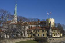 Riga Castle Stock Images