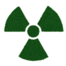 Free Radiation Symbol From Grass Stock Photography - 19252042