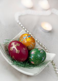 Free Easter Eggs Royalty Free Stock Photography - 19252347