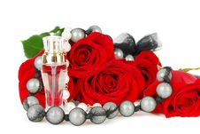 Free Parfume And Roses Royalty Free Stock Images - 19252739